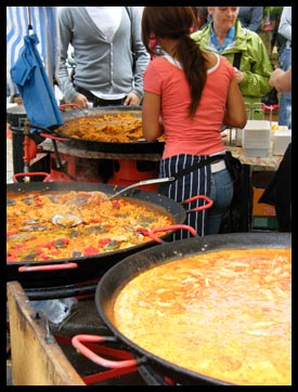 Cultural cuisine at the Notting Hill markets