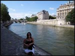 Me by the river in Paris