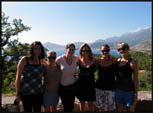 Jac, Mel, Amy, Jade, me and Jess in Montenegro