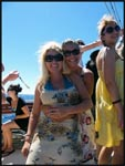 Mel & I on a boat ride going to one of the islands off the coast of Croatia