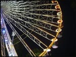 A Ferris Wheel at a fair on the French Riviera