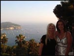 Mel and I taking in the breathtaking scenery in Monaco