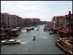 One of the main canals in Venice, Italy