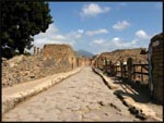 The streets of Pompeii