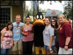 Brit, Jeremy, Me, Daffy, Jen, Jackie and Lisa at Six Flags, Chicago, Illinois