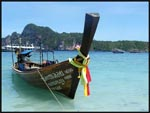 Beautiful scenery at Phi Phi Don Island, Phuket, Thailand