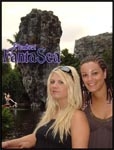 Mel and I at Fanta Sea, Phuket, Thailand