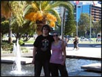 My brother and I in Perth, Australia