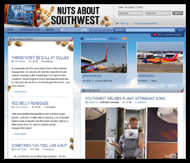NUTS ABOUT SOUTHWEST ONLING BLOG