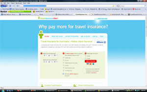 TRAVEL INSURANCE DIRECT WEBSITE