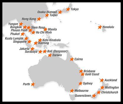 Jetstar Destinations